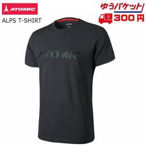 アトミック Tシャツ ATOMIC ALPS T-SHIRT Black ブラック [AP5035810]|msp