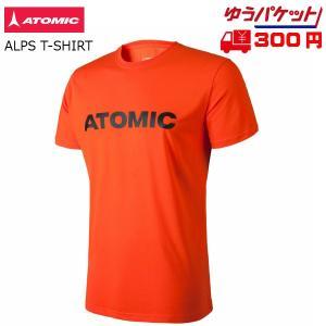 アトミック Tシャツ ATOMIC ALPS T-SHIRT Bright Red ブライトレッド [AP5035830]|msp