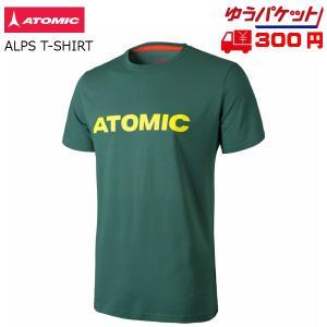 アトミック Tシャツ ATOMIC ALPS T-SHIRT Darkgreen ダークグリーン [AP5035840]|msp
