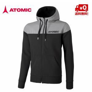 アトミック ATOMIC ALPS FZ HOODIE Black/Grey パーカー  [AP5035910]|msp