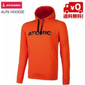 アトミック パーカー ATOMIC ALPS HOODIE Bright Red ブライトレッド [AP5036110]|msp