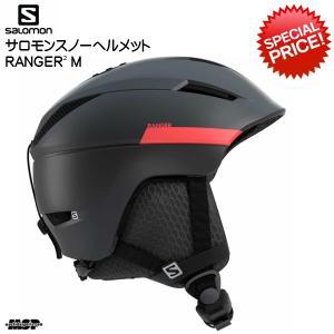 サロモン スキー へルメット SALOMON RANGER2 ブラック レッド [L40536400]|msp