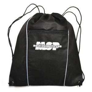 MSP ナップサック ヘルメットバッグ ブラック/ホワイト|msp