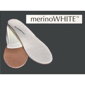 SUPERfeet トリムフィット メリノホワイト trimfit merino WHITE|msp