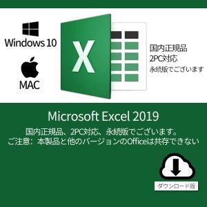 Microsoft Excel 2019 2PC プロダクトキー・オンラインコード [正規版 /永続...
