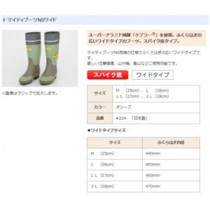 <daido(大同石油)> 信頼の日本製 マイティブーツNSワイド スーパーアラミド繊維「ケブラー〓」を使用 ふくらはぎの広いワイドタイプのブーツ #20A 20A-daido|msquall-y