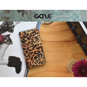 <GAZE(ゲイズ) > 【iPhone XR 6.1インチ】Leopard Calf Hair Diary ハラコ素材にレオパード柄を施した高級感あふれるダイアリータイプのケース GZ13473i61 msquall-y