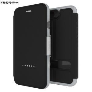 <gear4>【iPhone 8/7 4.7インチ】 手帳型 D3O Oxford(オックスフォード) iPhone 7 カバーに耐衝撃D3Oを採用 IC7033D3 msquall-y