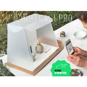 <JPT 日本ポステック> Photo Light Case Pro フリマアプリやSNSに掲載する小物等の写真をワンランク上に 組立簡単なミニスタジオ Photo Light Case Pro|msquall-y