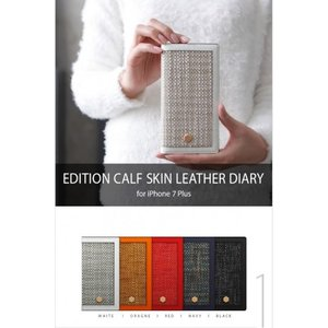 <SLG Design エスエルジーデザイン>【iPhone 8 Plus/ 7 Plus 5.5インチ】 手帳型 Edition Calf Skin Leather Diary  カーフスキンレザー SD8165i7P|msquall-y