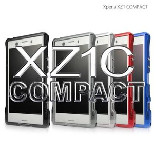 <alumania >【Xperia XZ1 COMPACT】 EDGE LINE-BUMPER for Xperia XZ1 COMPACT アルミビレット+アルマイトによる美しいアルミバンパー SX-A1803-GM|msquall-y