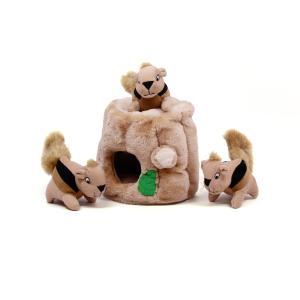 犬のおもちゃ 知育 ハイドアスクイレル リスを探せ! (ラージ16x16)|msryostyle