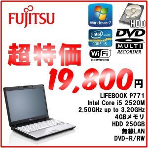 Fujitsu Lifebook FMV-P771 Core-i5-2520M/3.20GHz/4GB/HDD250GB/DVD-R/RW|mssk
