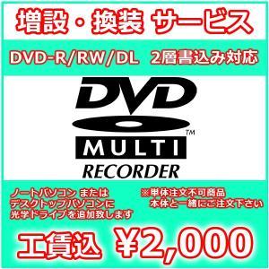 オプション:光学ドライブ 追加・換装 サービス DVD-R/RW/DL スーパーマルチドライブ 【同時注文用】|mssk