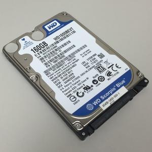 ハードディスク 2.5インチ バルク  Western Digital Scorpio (160GB/5400RPM/ATA300/8MB/12ms)  WD1600BEVT  [中古][HDD]|mssk