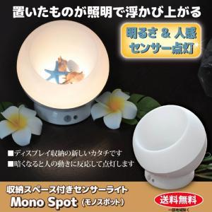 人感センサー ルームライト おしゃれ 照明 フロアライト フロアランプ 収納スペース付き LED センサーライト Mono Spot (モノスポット) GT811688 (210688)(GT)|msstore-1147