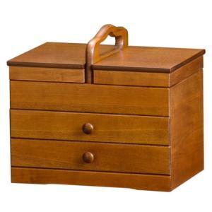 ソーイングボックス あおい H4370(290138)送料無料(KH)裁縫箱(ms)|msstore-1147