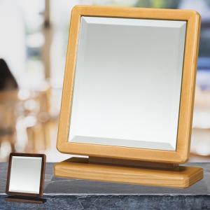 (送料無料) (プレゼント最適品)鏡の角度が調節できる上置ミラー ( 小) 幅28cm ミラー広面取 K3205 (290324-kr)(KH) (ms)|msstore-1147
