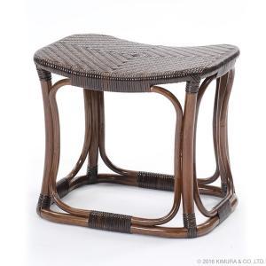ラタン スツール 籐の椅子 籐椅子 籐家具 腰掛け 補助イス ラタンチェア 籐家具 ラタン家具 ラタン手編み スツール C427KA (50392)(RW) msstore-1147