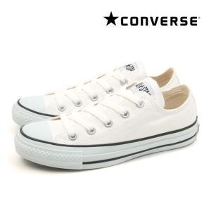 コンバース キャンバス オールスター カラーズ ロー ホワイト/ブラック レディース ローカット スニーカー CONVERSE CANVAS ALL STAR COLORS OX WHITE BLACK|mstage