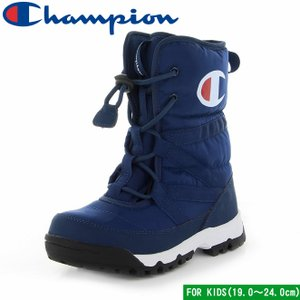 チャンピオン ジュニア スプラッシュコート2 ネイビー 子供靴 ジュニア ウィンター ブーツ 防水 防寒 Champion CP JSC033W JR SPLASH COURT 2 19.0〜24.0cm mstage