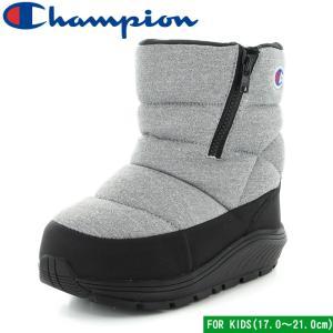 チャンピオン キッズ スプラッシュコート ファスナー グレイ 子供靴 ウィンター ブーツ 防水 防寒 Champion CP KSC032W KIDS SPLASH COURT FASTENER mstage