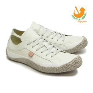 スピングルムーブ SPINGLE MOVE スニーカー 革靴 SPM-110 IVORY アイボリー メンズサイズ ローカット ビジカジ 白 日本製|mstage