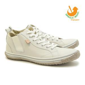 スピングルムーブ SPINGLE MOVE SPM-442 IVORY(アイボリー) made in japan ハンドメイド(手作り)スニーカー(革靴)メンズ|mstage