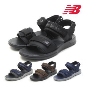 ニューバランス スポーツサンダル NB SUA250 STRAP G1 K1 B1 N1 幅:D メンズ ストラップサンダル new balance|mstage