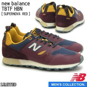 new balance ニューバランス TBTF HBN (幅:D) SUPERNOVA RED トレイルカラー Outdoor Style オフロードモデル メンズ|mstage