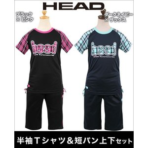 HEAD(ヘッド)半袖Tスーツ 上下セット 半袖Tシャツ&ハーフパンツの2点上下セット|mstore