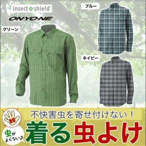 insect shield インセクトシールド メンズ チェックシャツ|mstore