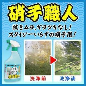「技 職人魂」シリーズ 硝子職人(500ml)ガラス仕上げ用洗剤 mtd