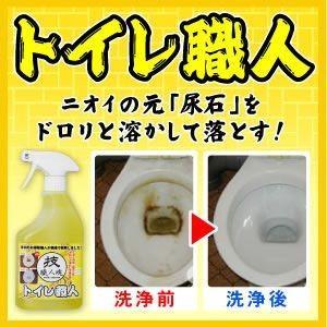 「技 職人魂」シリーズ トイレ職人(500ml)トイレ用強力洗浄剤 mtd