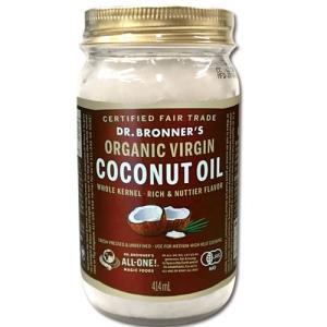 ドクターブロナー ヴァージン ココナッツオイル 414ml 正規品 食用 ダイエット|mtd