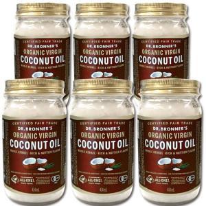 6本セット特価 ドクターブロナー ココナッツオイル 414ml 正規品 ヴァージン オイル ダイエット 在庫処分セール|mtd