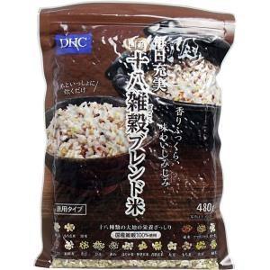 DHC 国産十八雑穀ブレンド米 徳用タイプ 480g入 単品1個|mtd