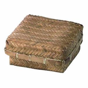 Bamboo 竹 バンブー小物入れ フタ付き 27-12 在庫一掃処分 外装汚れ 訳あり特価|mtd