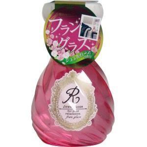 フラングラス 消臭・芳香剤 室内・トイレ用 ジュエルローズの香り 単品1個|mtd