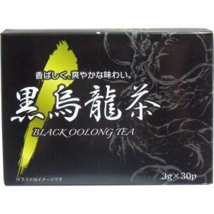 黒烏龍茶 3g×30袋入 単品1個|mtd