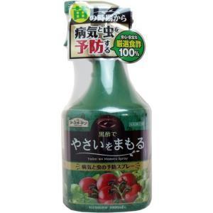 アースガーデン 黒酢でやさいをまもる病気と虫の予防スプレー 1000mL 単品1個|mtd