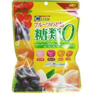 シーズケース フルーツのど飴 糖類0 84g入 単品1個|mtd