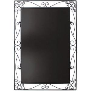 アイアンボード 黒板 チョーク用 L 42.5×67cm 在庫一掃処分 外装汚れ 訳あり特価|mtd