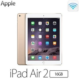 (au)iPad Air 2 Wi-Fi Cellular MH1C2J/A ゴールド(16GB)(iOS)