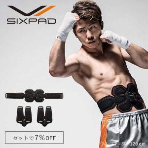 ◆単品の購入より7%OFF♪   アプリ対応で進化したSIXPADでお腹周りと脚を効率的に鍛える。 ...