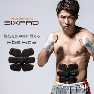 EMS 腹筋ベルト 筋肉 シックスパッド アブズフィット2 SIXPAD Abs Fit 2 シックスパット シックスパック 腹筋 ダイエット 器具 筋トレ 本体 充電式 MTG