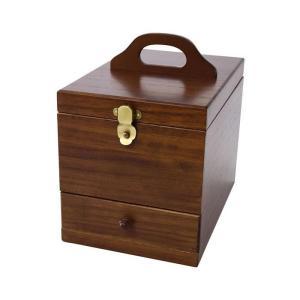 茶谷産業 日本製 Wooden Case 木製コスメティックボックス 017-513|mtmlife