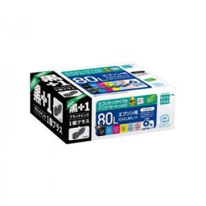 エコリカECI-E80L6P+BKリサイクルインク増量9885097|mtmlife