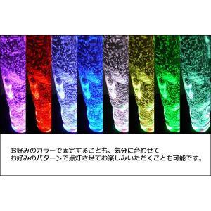 インテリアウォーターランプ トルネード 色の固定も出来るリモコンモデル(アクアランプ/バブルタワー/バブルチューブ)|mtshopid|03