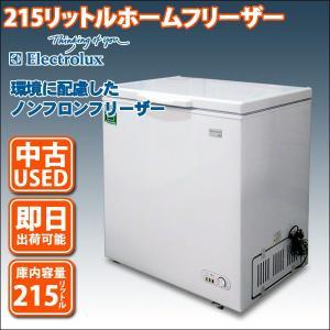 フリーザー ストッカー 215リットル 冷凍庫 エレクトロラックス ECB215 (中古 USED)|mtshopid